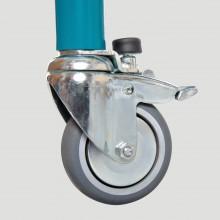PML_011 Колеса с блокировкой направления движ. (75 mm)