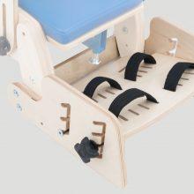 KDO/KDH_616 Подножка с 2- точечными ремнями стабилизирующими стопы