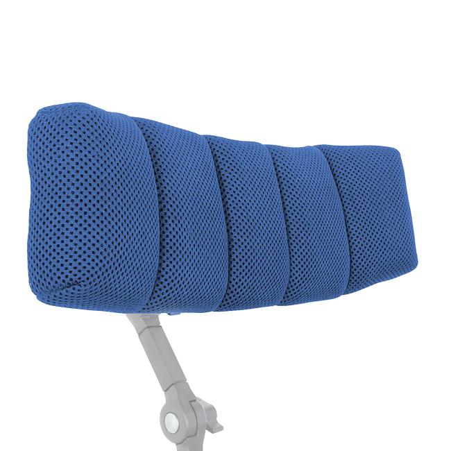 Innowacyjny zagłówek HexagonPro™ zabezpiecza iamortyzuje głowę. Posiada ergonomiczny iregulowany kształt pozwalający nakomfortowe dopasowanie zagłówka dopacjenta